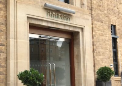 Dept of Physiology – University of Oxford