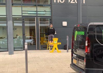 Glass Door Hinge Repair In Cambridge