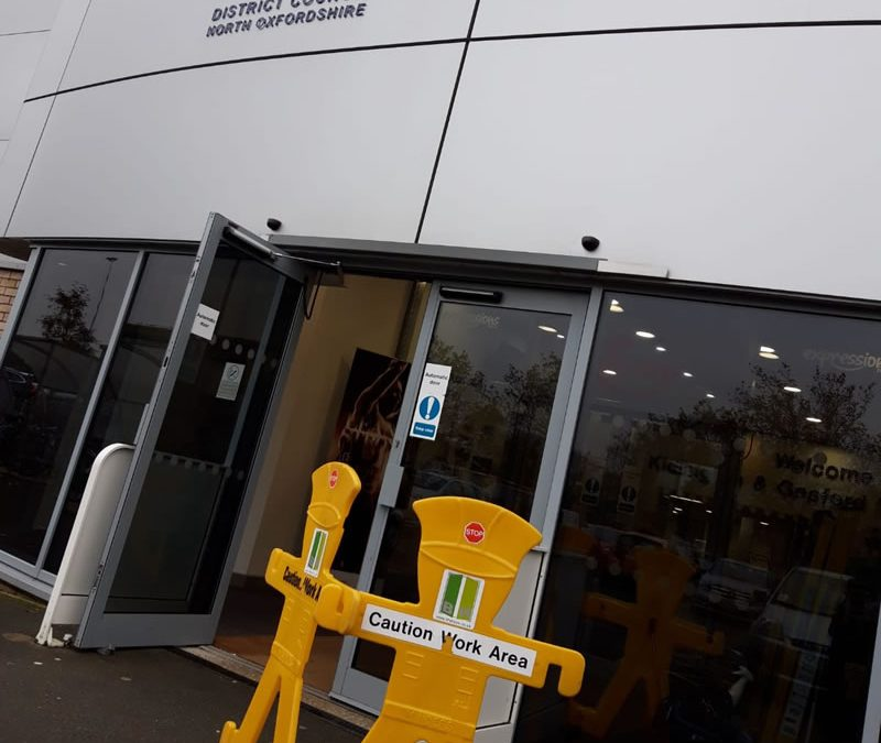 Leisure Centre Automatic Door Servicing in Oxford