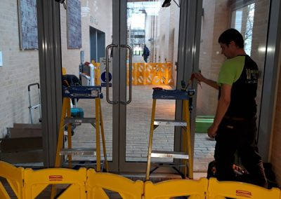 Glass Door Repair At University Of Oxford Said Business Centre