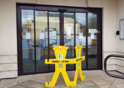 Glass Door Servicing At Carterton, Oxfordshire
