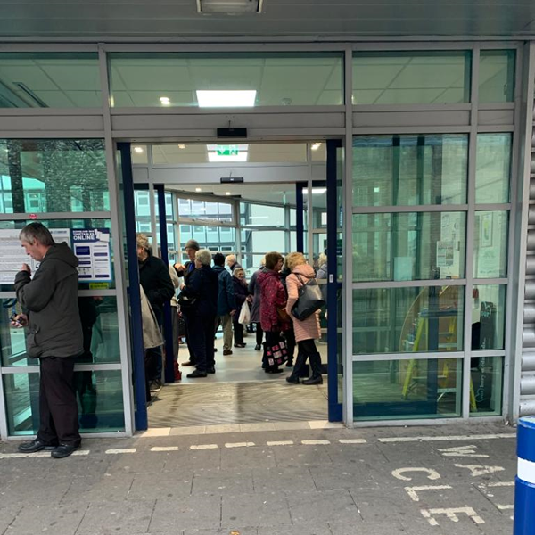 Automatic Sliding Door Repair At Bury St Edmunds