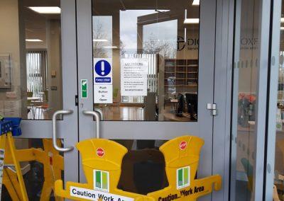 DDA Accessible Swing Door installation, Oxford