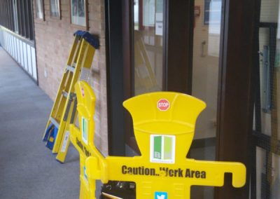 Automatic Glass Door Repair At The University Of Oxford