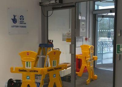 Automatic Door Repair, University Of Oxford