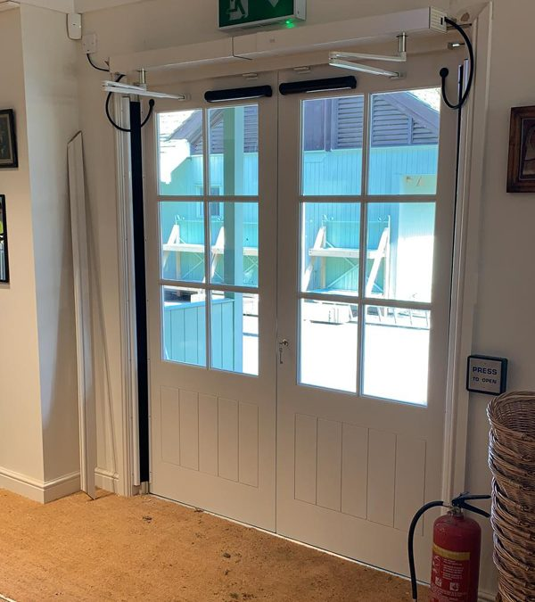 DDA Accessible Door Installation, Norfolk