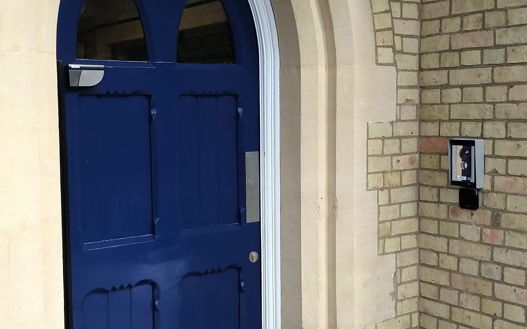 DDA Accessible Door Installation, University Of Oxford