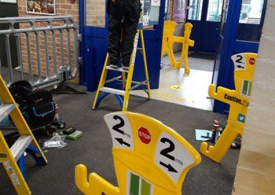 Automatic Geze Swing Door Repair, Oxford