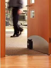 Door adaptation to hold open
