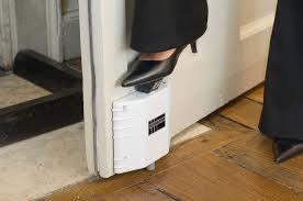 Door adaptation to maintain open door and prevent contact