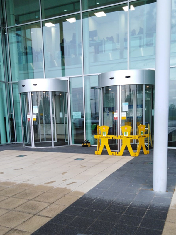 automatic door safety update cambridge