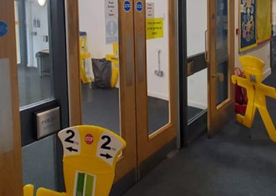 Automatic Fire Door Conversion, Oxfordshire College
