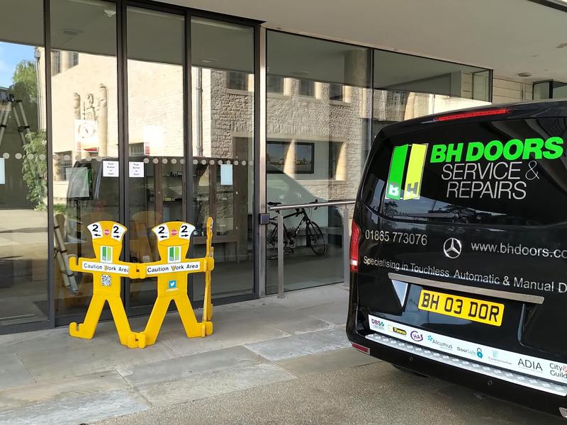 automatic door repair Oxford