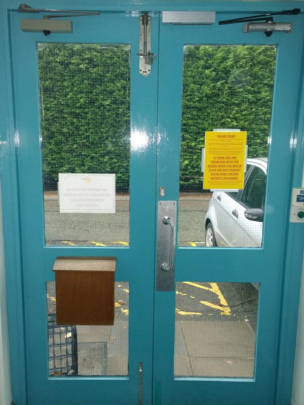 Oxford door installation