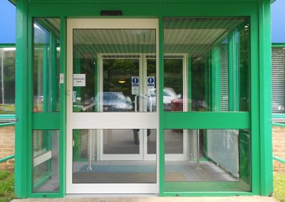 Automatic Door System Design, Supply & Installation At Faringdon Leisure Centre