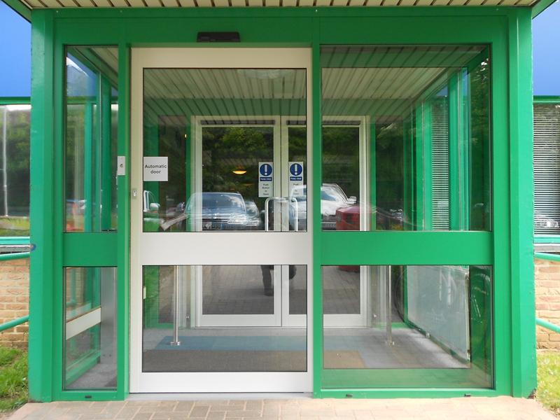 external automatic sliding door faringdon