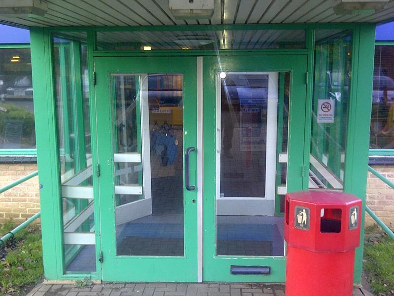 Faringdon installation door