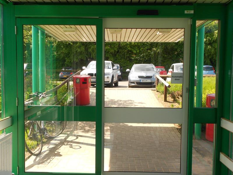 installation automatic door faringdon
