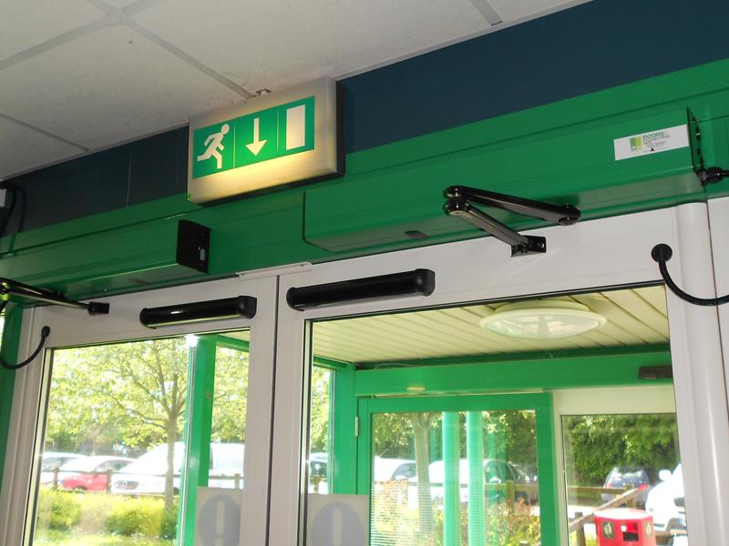 faringdon automatic door operator installation