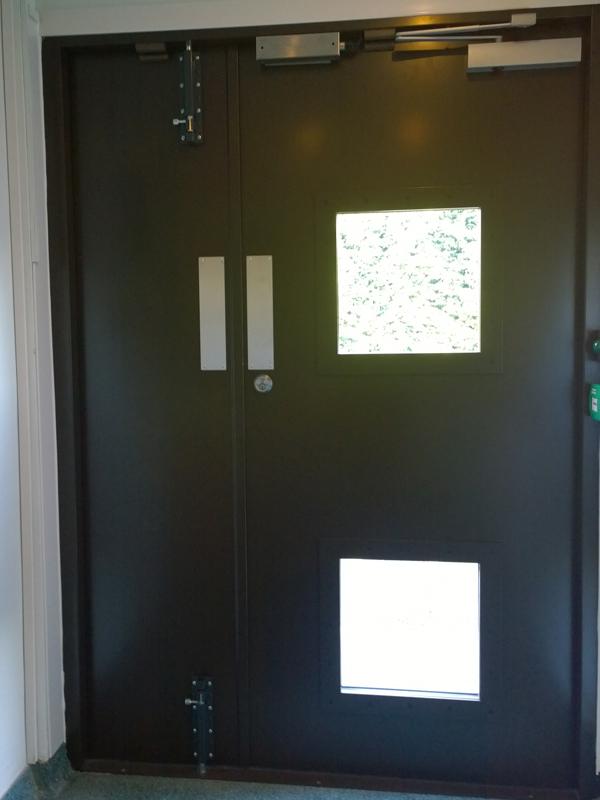 oxford john radcliffe door installation
