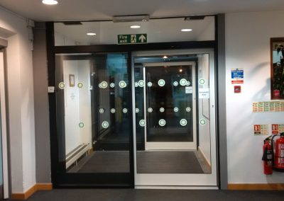 Automatic Sliding Doors – Thame Leisure Centre
