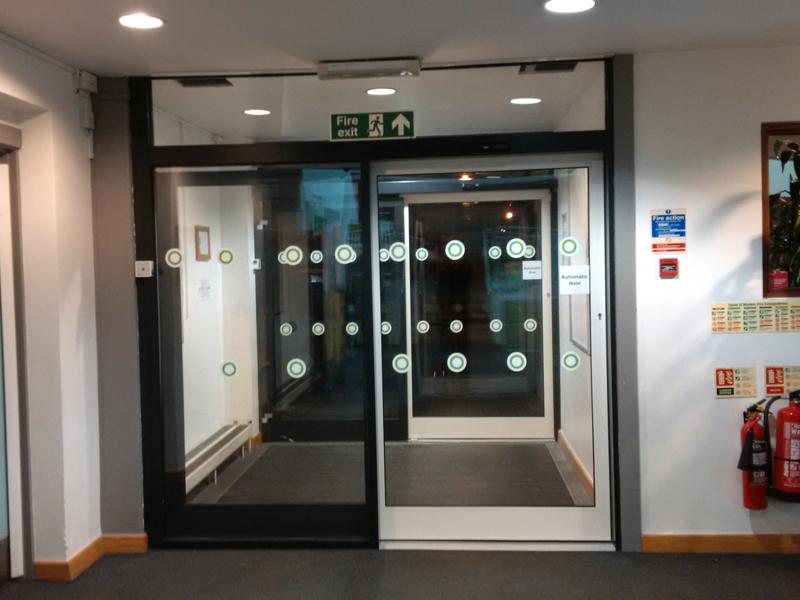 new automatic sliding doors Thame