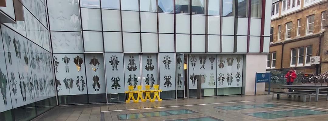 DDA Accessible doors repair in Oxford