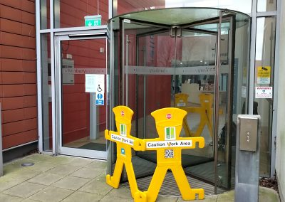 Glass Revolving Door Repair – Banbury