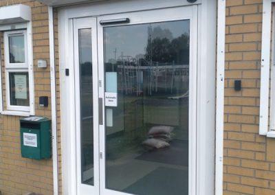 Automatic Swing Operator & Aluminium Door Installation – Peterborough