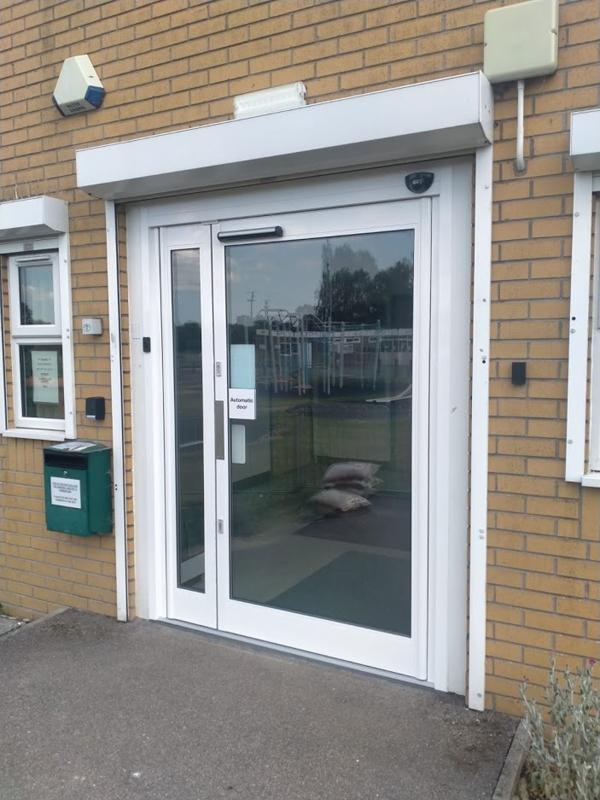 Automatic swing door installation in Peterborough