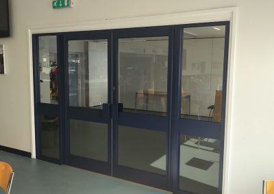 Aluminium Door Installation – Oxfordshire