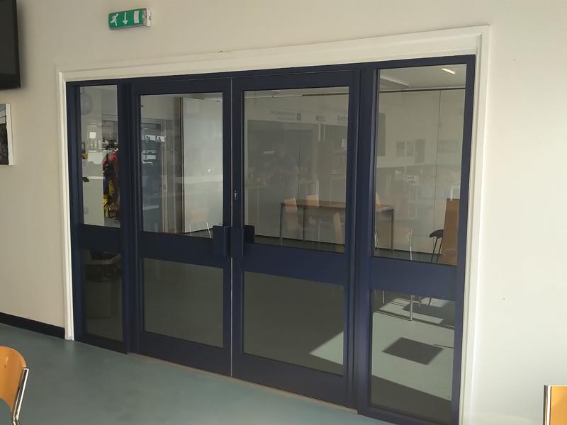 aluminium door installation in Oxfordshire